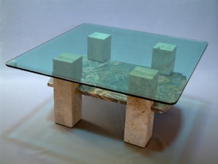 Nagy dohányzó asztal